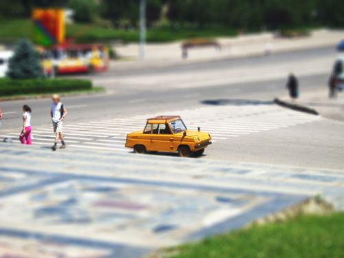 The Tilt-Shift Miniature Effect