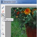 Foreground Tool in PhotoPlus X3