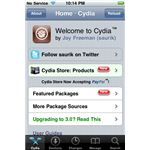 Cydia Home Screenshot