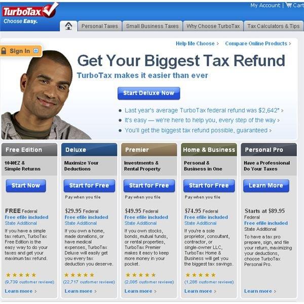 TurboTax Free Federal Income Tax Advice