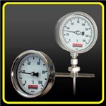 Dial temperature gauge (http://www.temperature-ga