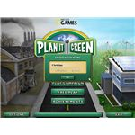 Plan It Green menu screen