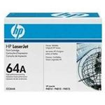 HP 64A black toner cartridge