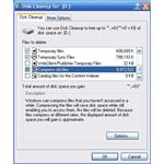 Using Disk Cleanup