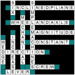 Solved Crossword