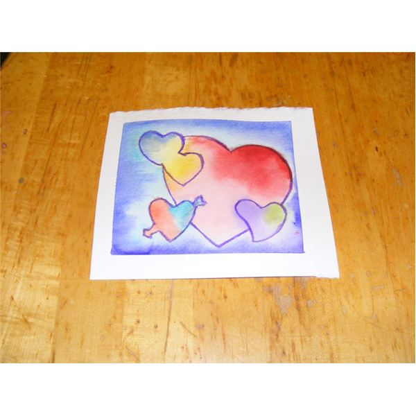 A Watercolor Valentines Day Painting Lesson Painting Hearts for
