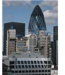 Lloyds Building & The Gherkin in London