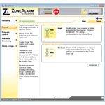 ZoneAlarm Firewall Settings