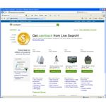 Live Search CashBack