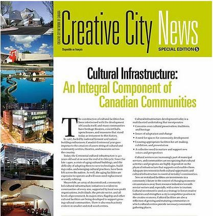 Creative City News Special Edition 5 – Cover Page