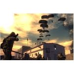 Picking off paratroopers as they land