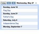ss-calendar - Google.com/webelements