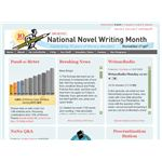 National Novel Writing Month website