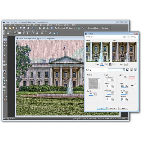 how to create a swatch from the mixer corel