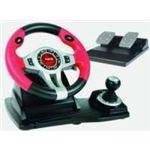 Logic3 Red Steering Wheel