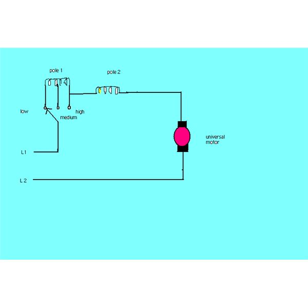 How speed of a universal electric motor is controlled for Universal motor speed control circuit