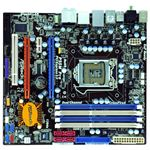 The colorful ASRock P55M Pro's price tag of $100 bucks is impressive