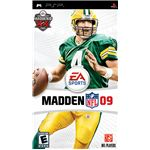 Madden NFL 09 PSP box art