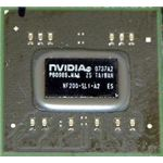 The tiny nForce 200 chip is easy to miss