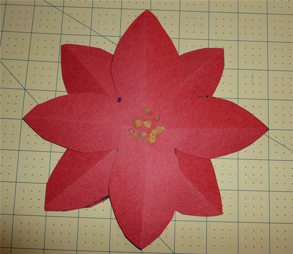 Easy Fun and Festive Poinsettia Craft