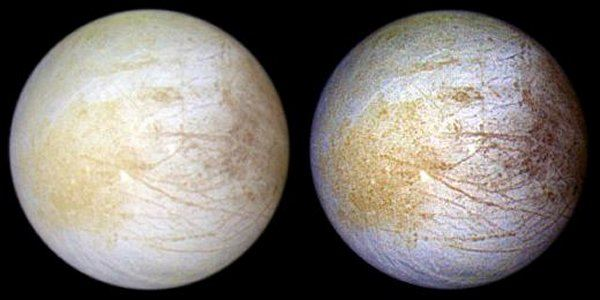 Jupiter's Europa - Ice Crepe Surface