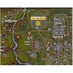 Location of Grand Exchange in Runescape