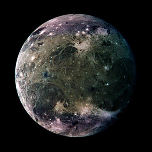 Jupiter's Ganymede - Largest Moon in the Solar System
