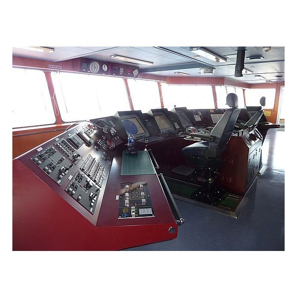 Engine Control Console : Marine control systems integrated for all aspects