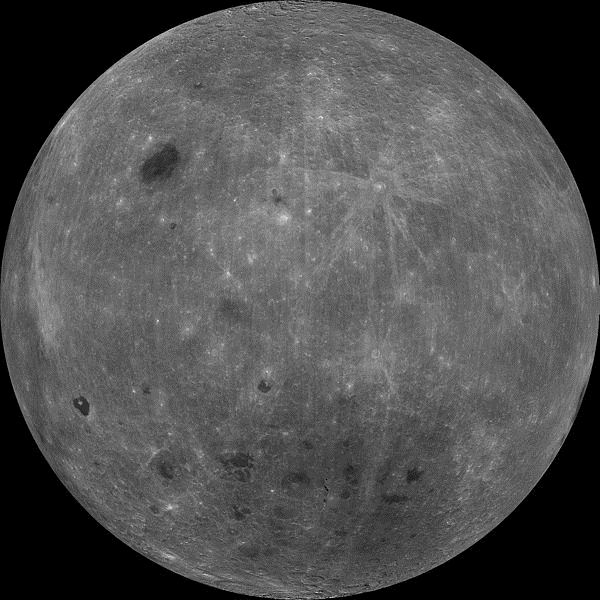 Unusual moon facts far side of the moon