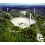 The Arecibo Radio Telescope in Puerto Rico