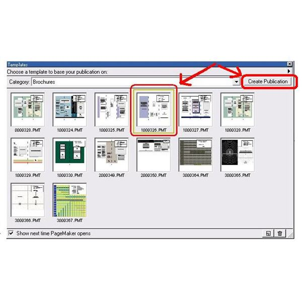create a pagemaker pamphlet using a pamphlet template
