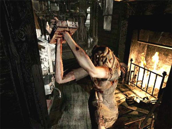 Lisa Trevor in Resident Evil Remake
