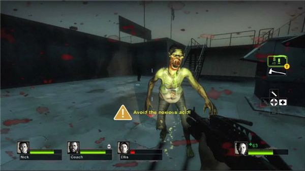 The Spitter in Left 4 Dead 2