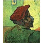 Paul Gauguin (Man in a Red Beret) by Van Gogh