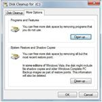 Disc-cleanup-syst-restore-point