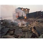 ship breaking garbage heaps