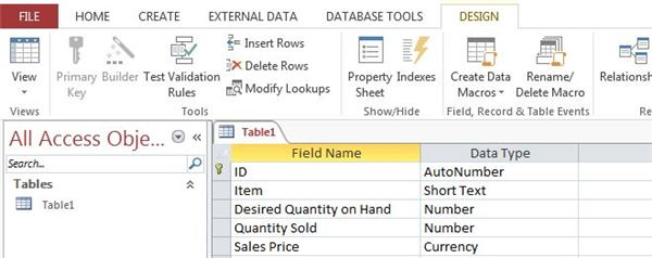 Defining and Using Calculated Fields in Access 2013: Tutorial With ...