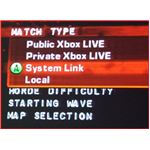 Gears of War 2 Select Match Type System Link