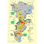 Ogallala aquifer water table changes