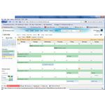 When you sync Google Calendar and Windows Live Calendar you can view one within the other