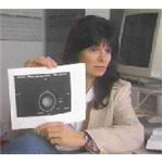 Carolyn Porco with Uranus