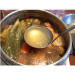 "Photo Credit: ""Self-made bouillon de volaille (chicken broth)"