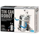 recycle a can into a robot kit