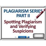 Spotting and Verifying Plagiarism