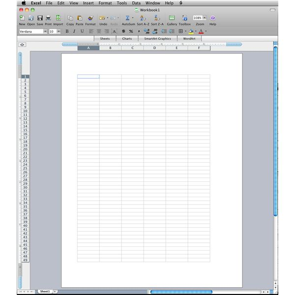 mac how to make a header on only one page