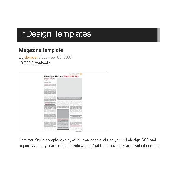 magazine layout templates free download - great free magazine layout templates use as is or get