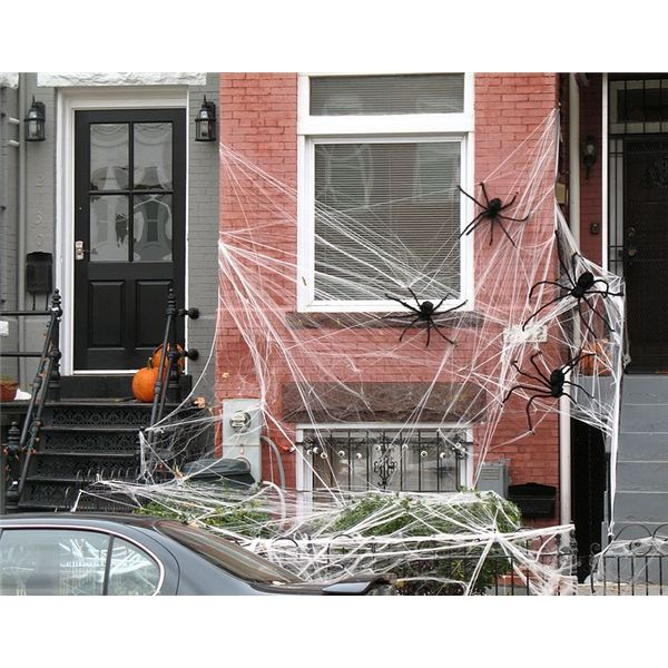 recycled halloween decorations