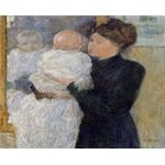 500px-Twachtman John Mother and Child John Twachtman(1853-1902)-2