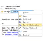 How to Save Microsoft Outlook Emails and Attachments