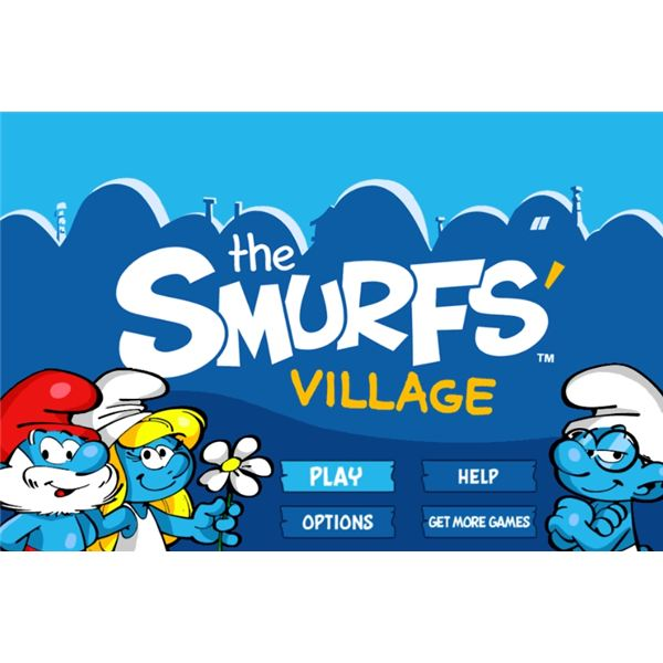 The Smurfs Papa Smurf Smurfette Finger
